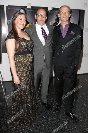 Rebecca Harrell Tickell, Dan Braun and Joshua Tickell