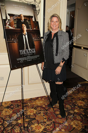 Editorial picture of 'The Judge' special film luncheon, New York, America - 10 Oct 2014