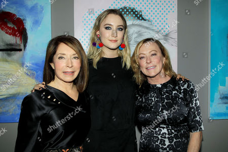 Stock Image of Paula Wallace (President and Founder of Savannah Film Festival), Saoirse Ronan, Nancy Utley