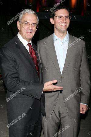 Stock Image of Howard J Rubenstein with son Steven