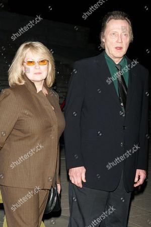 Georgianne Walken and Christopher Walken