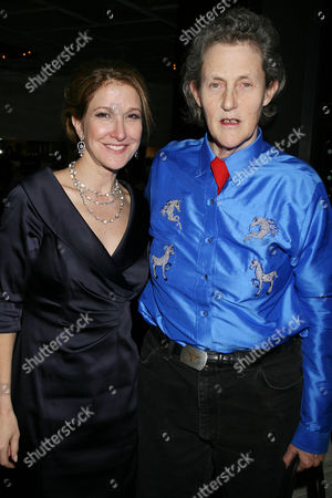 Emily Gerson Saines ( Producer ) and Dr. Temple Grandin