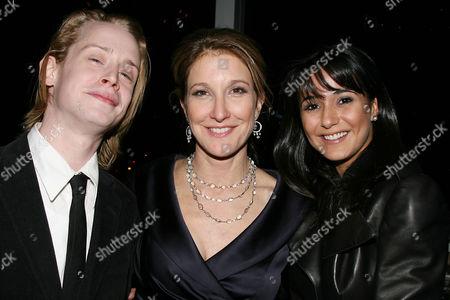 Macaulay Culkin, Emily Gerson Saines (Producer) and Emmanuelle Chriqui