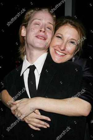 Macaulay Culkin and Emily Gerson Saines (Producer)