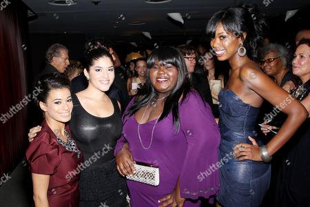 Angelic Zambrana, Stephanie Andujar, Gabourey Sidibe, Xosha Roquemore