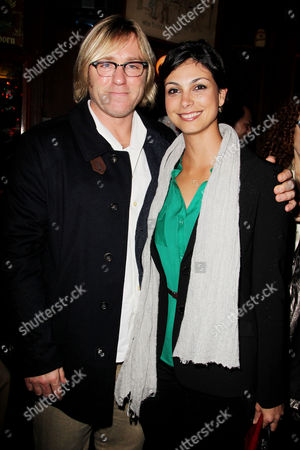 Ron Eldard and Morena Bacarin