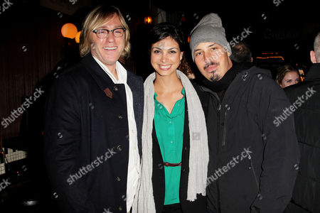 Ron Eldard, Morena Bacarin and boyfriend Austin Chick