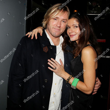 Ron Eldard and Jill Hennessy