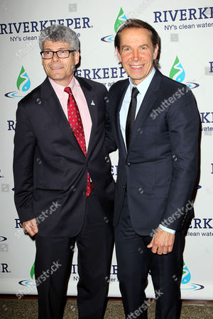 Stock Image of Paul Gallay and Jeff Koons