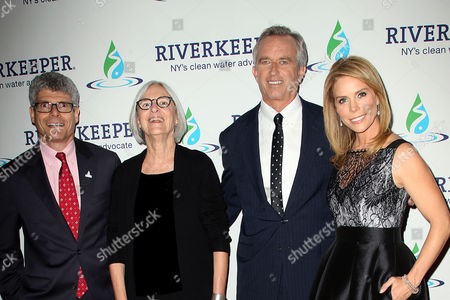 Stock Photo of Paul Gallay, Eileen Fisher, Robert F. Kennedy Jr. and Cheryl Hines