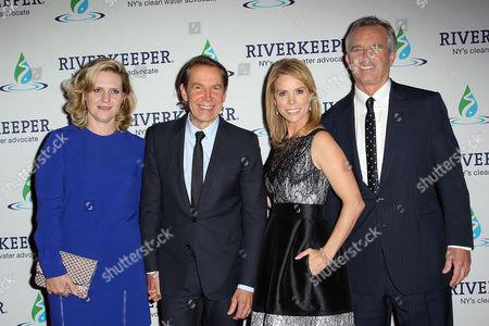 Ilona Staller, Jeff Koons, Cheryl Hines and Robert F. Kennedy Jr.