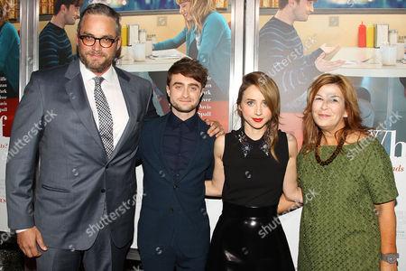 Michael Dowse, Daniel Radcliffe, Zoe Kazan, Terry Press