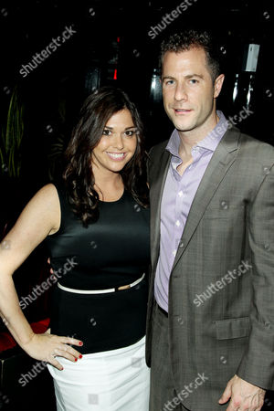 Stock Picture of Kate Laufer with Guest