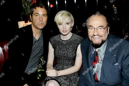 Mark Steven Johnson (Director), Elizabeth Olin, James Lipton
