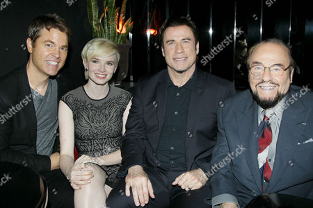 Mark Steven Johnson (Director), Elizabeth Olin, John Travolta, James Lipton