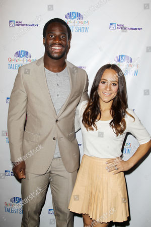 Prince Amukamara and Pilar Davis (wife)