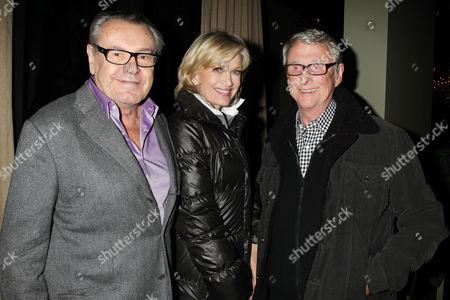 Stock Image of Milos Forman, Diane Sawyer and Mike Nichols