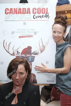 Brigitte Monneau and Ingrid Veninger