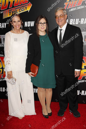 Bob Gale with wife Tina and daughter Samantha