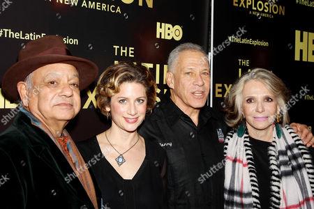 Cheech Marin, Sara Bernstein (VP Programing HBO), Jon Alpert (Producer), Sheila Nevins (HBO Documentary Films)