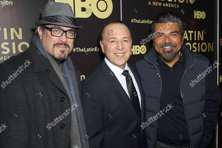 David Zayas, Tommy Mottola (Exec. Producer), George Lopez