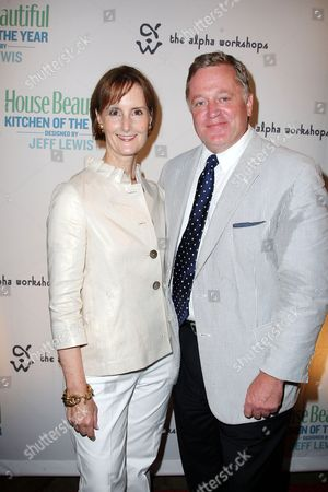 Kate Kelly Smith (House Beautiful VP/Publisher) and Newell Turner (House Beautiful Editor-in-Chief)