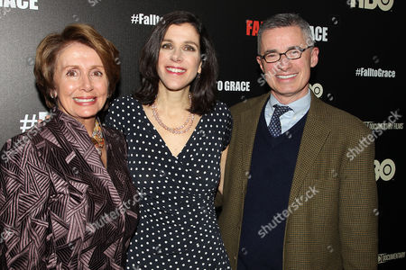 Nancy Pelosi, Alexandra Pelosi and Jim McGreevey