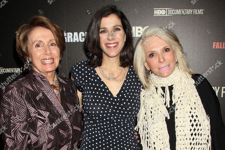 Nancy Pelosi, Alexandra Pelosi and Shelia Nevins(Pres HBO Docs)
