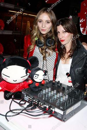 DJ Harley and Nevena Borissova (Curve Boutique Owner)