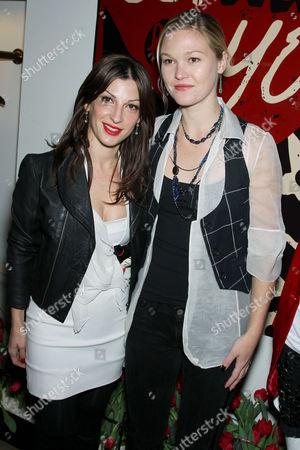 Nevena Borissova (Curve Boutique Owner) and Julia Stiles
