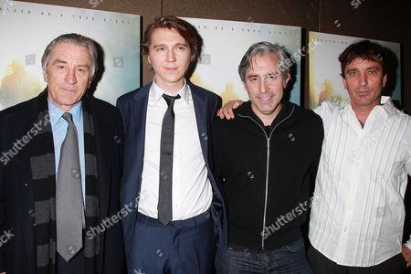 Robert De Niro, Paul Dano, Paul Weitz and Nick Flynn