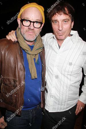 Michael Stipe and Nick Flynn