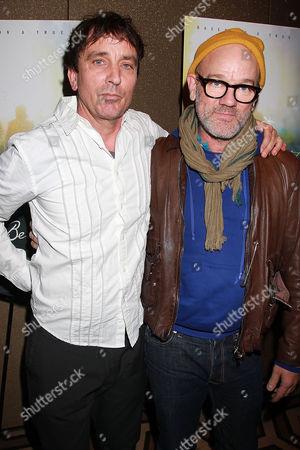 Nick Flynn and Michael Stipe