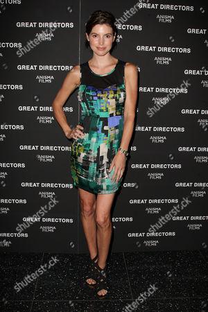 Editorial picture of 'Great Directors' film premiere, New York, America - 22 Jun 2010