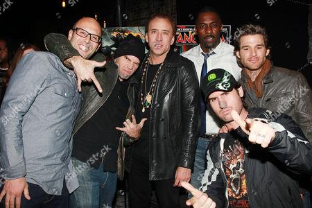 Ari Arad, Brian Taylor, Nicolas Cage, Idris Elba and Johnny Whitworth