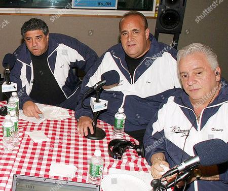 Vincent Pastore, Brooklyn Joe Causi and Vinny Vella