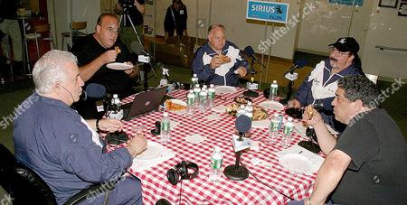 Vinny Vella, Brooklyn Joe Causi and Joe Rigano, Cha Cha (with hat), Vincent Pastore