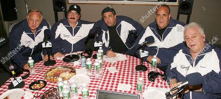Joe Rigano, Cha Cha, Vincent Pastore, Brooklyn Joe Causi and Vinny Vella