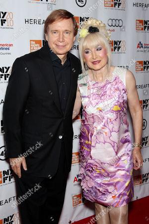 Francesca Beale with husband