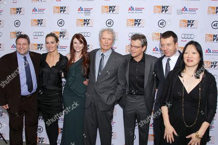 Richard Pena, Cecile de France, Bryce Dallas Howard, Clint Eastwood, Matt Damon, Peter Morgan, Rose Kuo