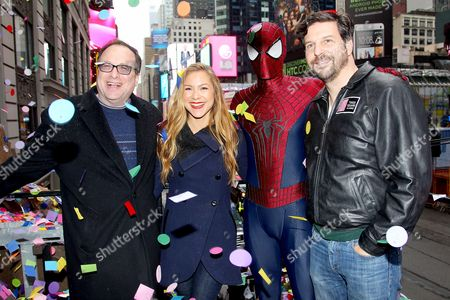 Jeffrey Straus, Allison Hagendorf, Spider-Man and Tim Tompkins