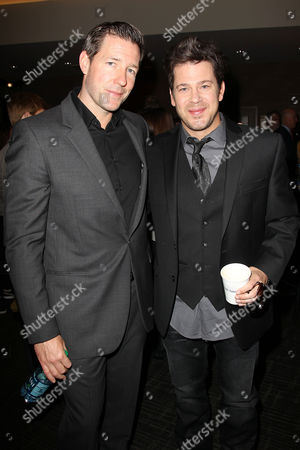 Edward Burns and Christian Kane