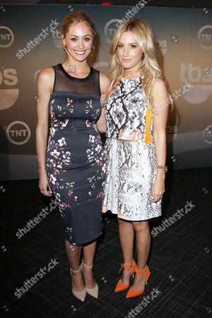 Elizabeth Masucci and Ashley Tisdale