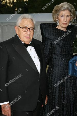 Henry Kissinger and Nancy Kissinger
