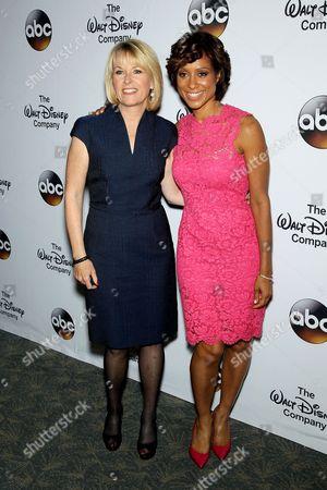 Diana Williams and Sade Baderinwa