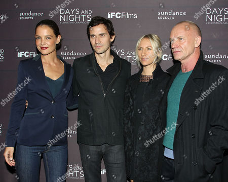 Katie Holmes, Christian Camargo, Mickey Sumner and Sting