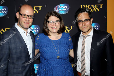 Stock Photo of Scott Rothman (Screenwriter), Ali Bell (Producer), Rajiv Joseph