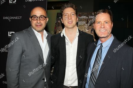 David Dinerstein, Henry-Alex Rubin and Mickey Liddell