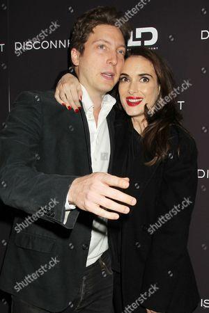 Henry-Alex Rubin and Winona Ryder