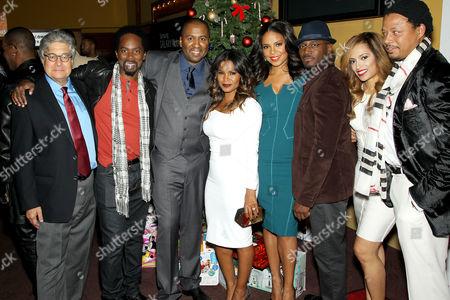 Cast of The Best Man. Terrence Howard, Melissa De Sousa, Morris Chestnut, Sanaa Lathan, Nia Long, Malcolm D Lee, Harold Perrineau,